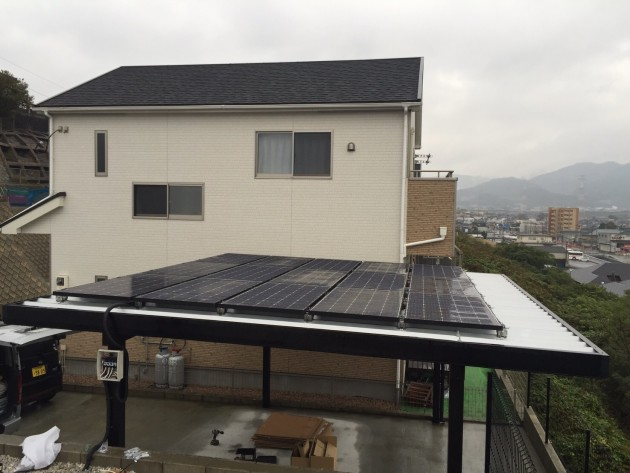 K様邸 太陽光設備工事